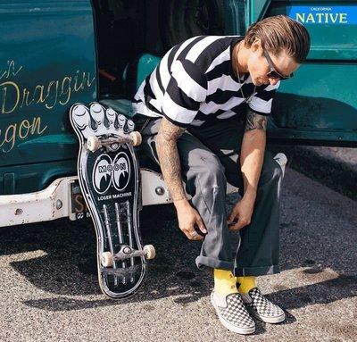 (I LOVE樂多)Loser Machine x MOON Gas Pedal Skateboard Deck 滑板