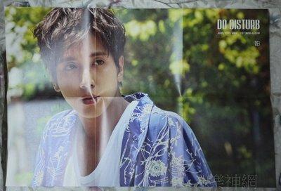 CNBLUE 鄭容和 Jung Yong Hwa DO DISTURB 【韓版折頁海報】全新