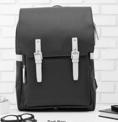 男女日系韓版新款復古學院風雙肩包甜美女時尚休閒潮學生背包書包