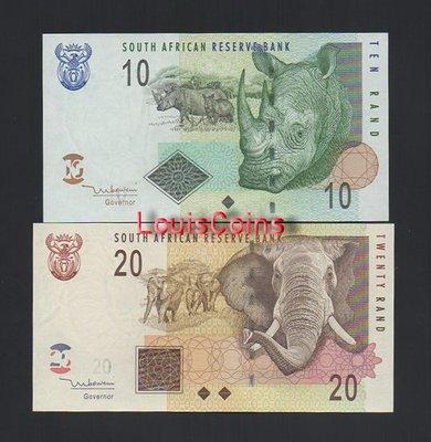 【Louis Coins】B1253-SOUTH AFRICA--ND (2005)南非紙幣,4張一組