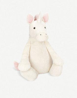 [英國Jellycat 團購] Jellycat 安撫玩偶Bashful Unicorn系列 108cm,獨角獸