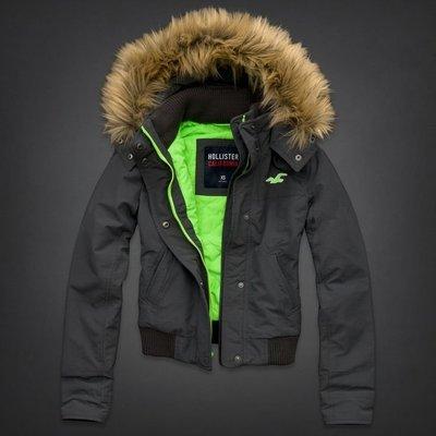 Hollister All-Weather Hoodie Fleece Lined Jacket 女生 全天候 防風外套