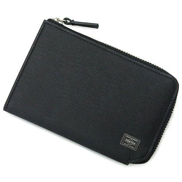 『小胖吉田包』黑色預購 日本 日標 PORTER CURRENT 零錢包/皮革製(B款) ◎052-02216◎免運