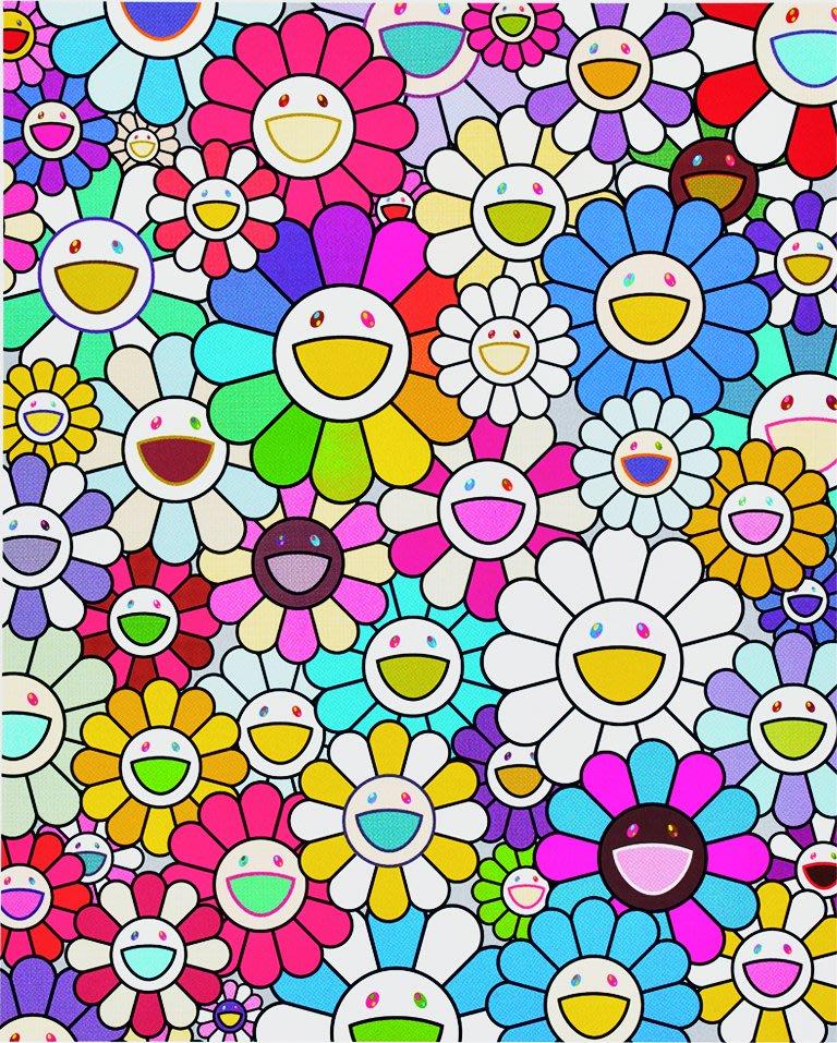 村上隆 Takashi Murakami 最接近天堂的島嶼之花 簽名版畫 絲網版畫 限定100版