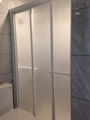 《振勝網》【免費丈量+一年保固】台灣製 乾濕分離 一字三門 PS板 淋浴拉門 淋浴門 另售DAY&DAY 凱撒 TOTO