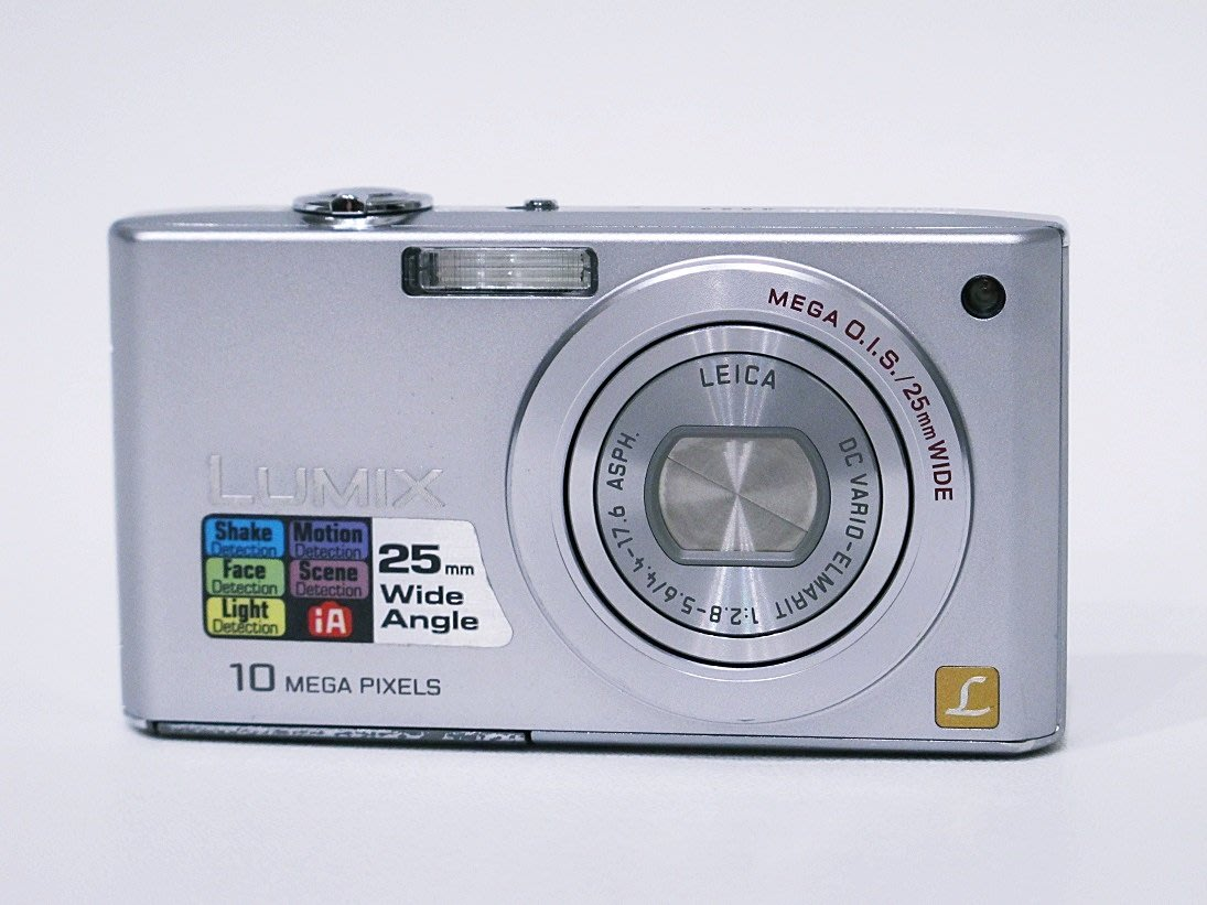 *羅浮工作室=免郵資,功能保固*Panasonic DMC-FX36 數位相機*