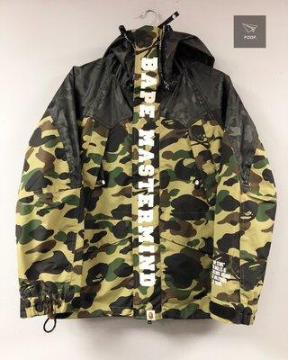 [FDOF] 預購 A BATHING APE® x mastermind JAPAN 綠迷彩雪衣