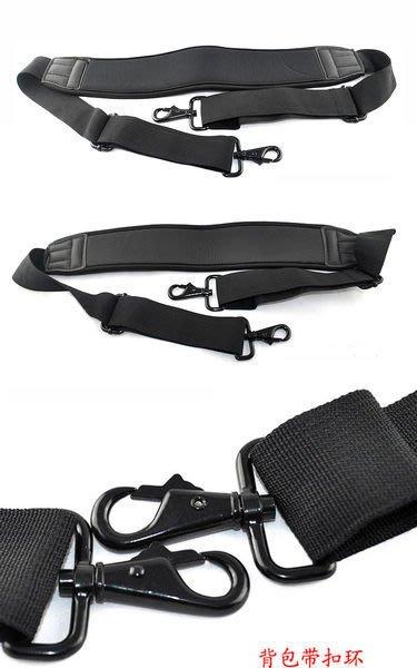 怪機絲 YP-9-014-1 高彈力防水泡棉箱包背帶金屬扣肩帶掛脖相機包背帶黑色