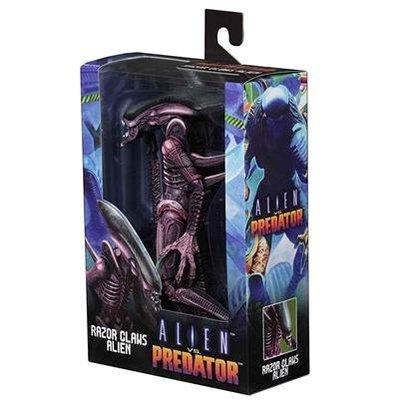 全新 NECA Alien vs Predator 電玩版 Razor Claws 銳爪異形