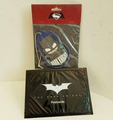 罕有電影版:Batman The Dark Knight套裝明信片+Hot Toys 雙面DC 掛牌(收藏品)