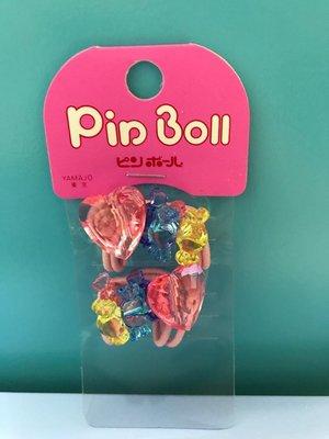 *Miki日本小舖*日本心型&糖果造型 髮束/髮飾/髮圈 日本製 粉色