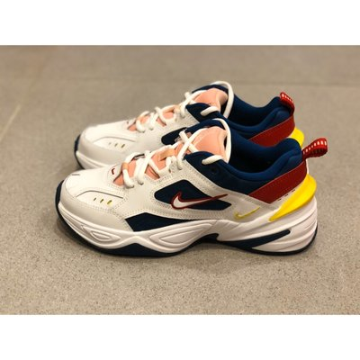 Nike M2K Tekno 白粉黃 老爹鞋 增高鞋 AO3108-402
