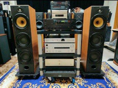 疫情特賣「英國原裝」 B&W 604 S2 高級3音路4單體 新型立體相位錐 大型主聲道喇叭含原廠網罩紙箱功能正常!可加購喇叭線