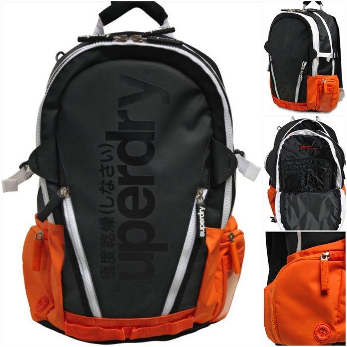 英國 極度乾燥 Superdry Tarp mesh Backpack 後背包 手提包 筆電包 多夾層 限量限時特價現貨