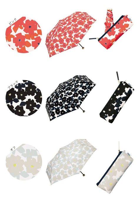 W.P.C 日本雨傘 折疊傘 折傘 WPC 雨傘 花花 花布 #120 現貨+預購