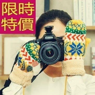 針織手套復古熱銷-名媛正韓保暖羊毛女手套4色63m21[獨家進口][米蘭精品]