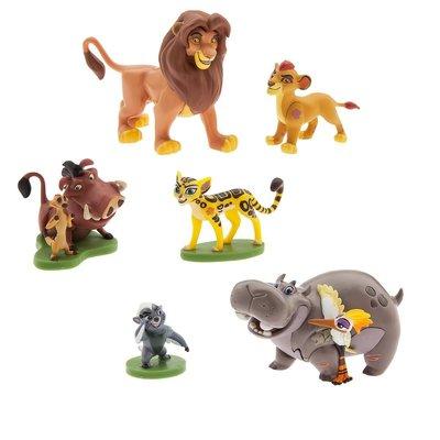 【美國大街】正品.美國迪士尼獅子王小公仔6隻組 Lion Guard 最長3.5吋 / 9cm