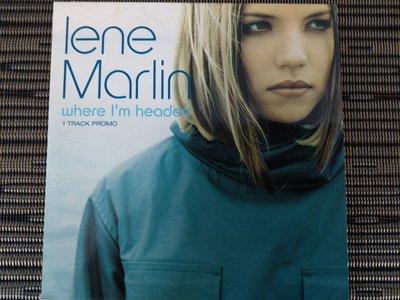 稀有宣傳版 CD- Lene Marlin 琳恩瑪蓮 where I am headed (非 蔡琴)NW