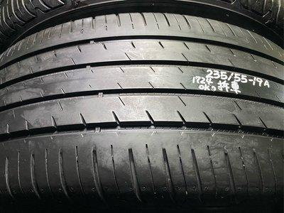 固特異 EFG Performance SUV 235/55/19 一條1千7 中古胎