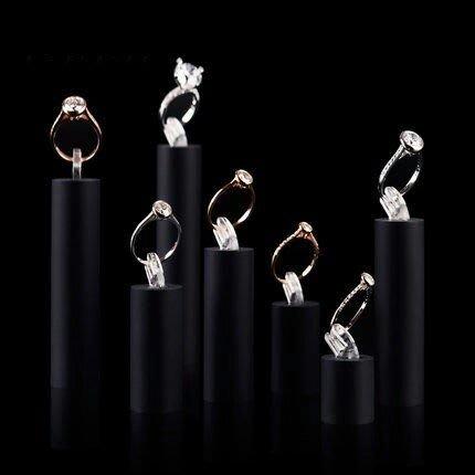 壓克力戒指架7個一套為一組展示台