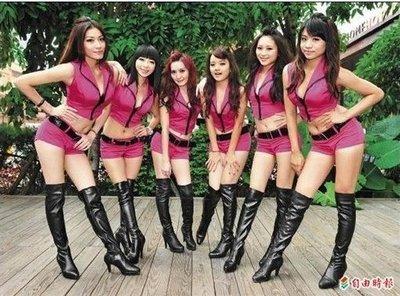 show girl 跳舞鞋 cecilia 訂制鞋 過膝高跟長靴 Super-7團體鞋訂制鞋 貨號:2889 量身定做!