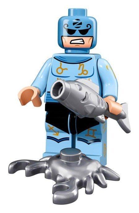 現貨【LEGO 樂高】Minifigures人偶系列: 蝙蝠俠電影人偶包抽抽樂 71017 | #15 星座大師+魚+蟹