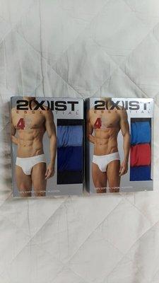 2xist Bikini briefs 100% cotton 4件組 M 號 黑藍紅 高雄市