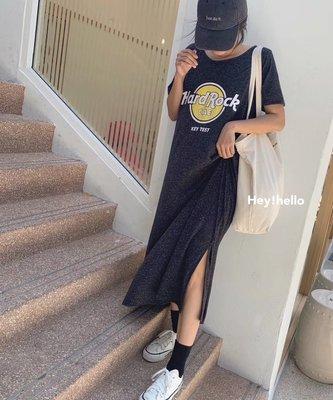 (現貨)韓國春夏寬鬆顯瘦休閒印花洋裝