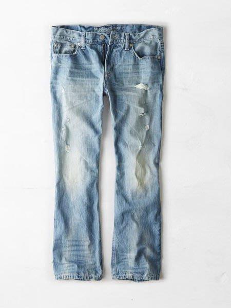 AMERICAN EAGLE Original Boot Jean 美國老鷹AEO刷破/水洗/靴型牛仔褲