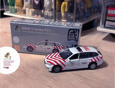 Artlife @ Tiny 微影 TTF BMW 5 F11 TAIWAN POLICE 台灣限定 國道警車