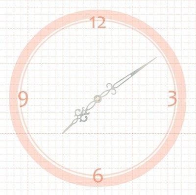 【鐘點站】 J101071S  SKP壓針機芯 / 分針10.1公分 時針7.1公分 / DIY 時鐘 掛鐘 鐘針