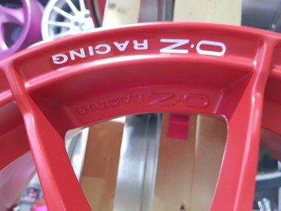 正OZ 鍛造鋁圈 4孔100 輕量化鋁圈 OZ鋁圈 16吋鋁圈 OZ (只有一組7J)展示新品