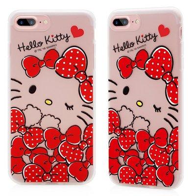 GARMMA Hello Kitty iPhone 7  iPhone7 Plus 軟式 保護殼 套 手機殼 軟綿綿