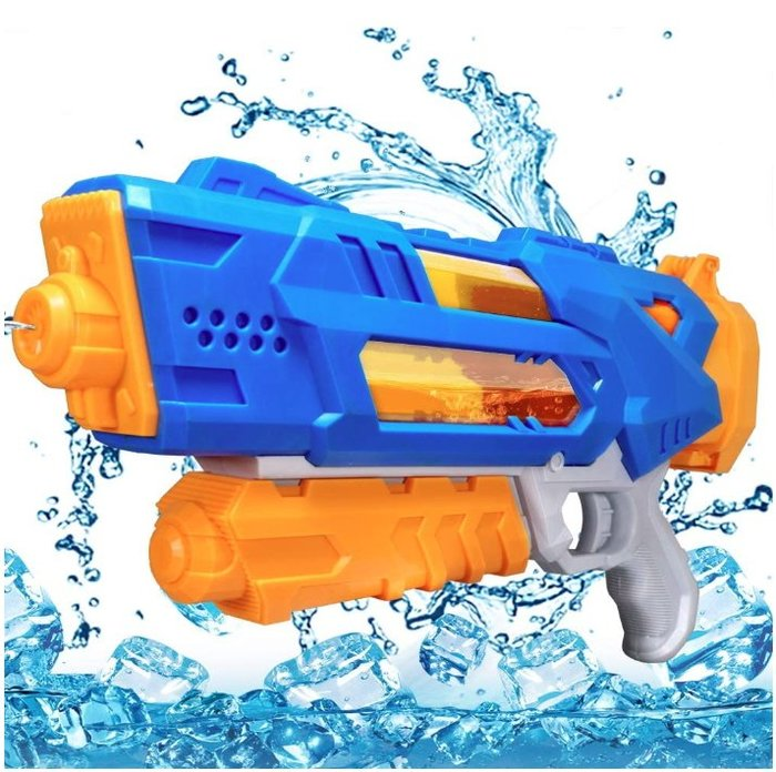 《FOS》日本 遠距離 水槍 玩具 1200cc 大容量 噴水槍 戲水 夏天 消暑 孩童最愛 禮物 熱銷 2020新款