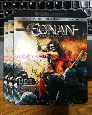Lucky 1of1收藏正版藍光Conan the Barbarian 野蠻人柯南王者之劍4K UHD碟美