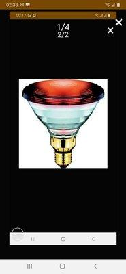 OSRAM德國紅外線燈泡110v 150v 買5個免運