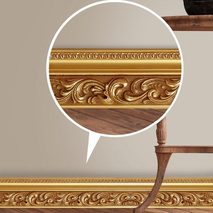 yoyo淘淘樂 客廳廚房浴室腰線裝飾瓷磚貼紙踢腳線墻貼自粘創意防水墻角線貼紙
