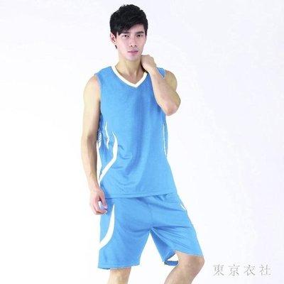 大尺碼籃球服 短袖運動褲球服運動粉球褲褲套裝球衣 QQ9163