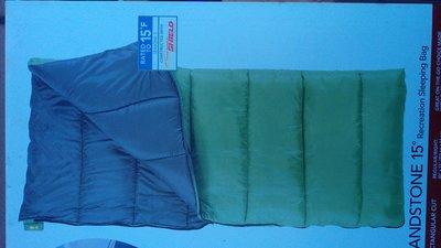 美國百年老廠..Eureka(-9.4℃)露營睡袋....沙岩