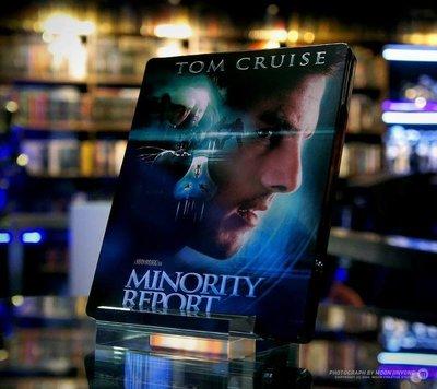 毛毛小舖--藍光BD 關鍵報告 韓國限量鐵盒版(中文字幕) Minority Report 湯姆克魯斯