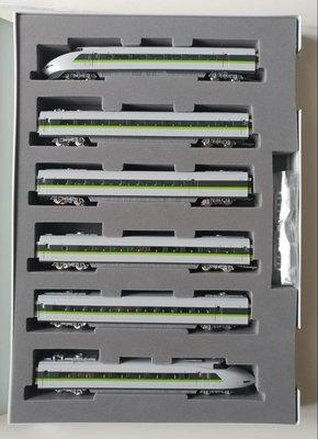 Tomix NGuague #92823 JR100系山陽新幹線 (Fresh Green color) 特別色6車廂套裝, 二手品90%新!