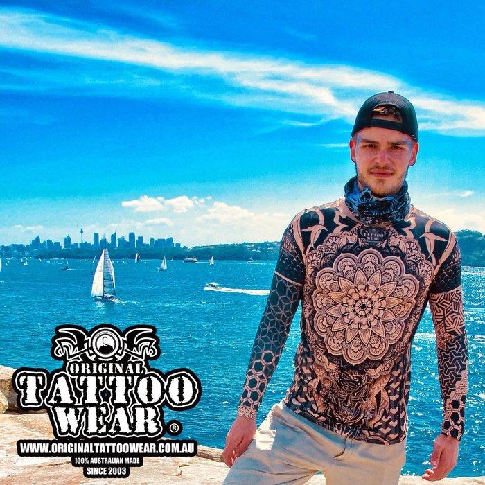 澳洲原創紋身衣著  紋身衣 緊身衣 刺青衣 地表最強防曬 仿真刺青 抗uv 紫外線 涼感 角色扮演 生日派對 主題派對