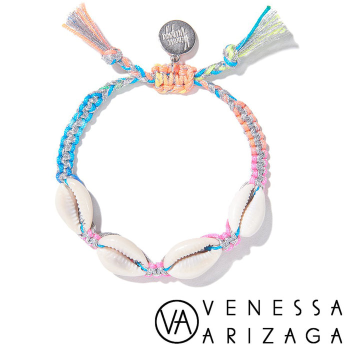 Venessa Arizaga FANTASEA BRACELET (SILVER RAINBOW)彩色手鍊
