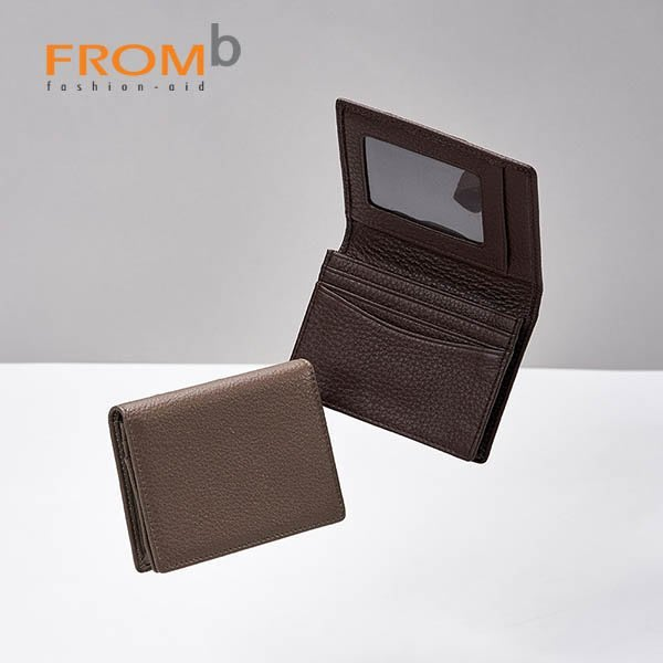 【橘子包舖】韓國正貨 FROMb 男用商務真皮名片夾 [G0705] (五色)