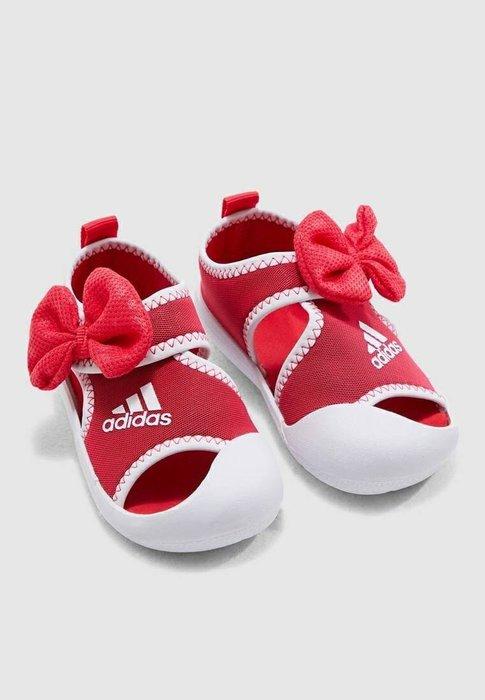 adidas 愛迪達 兒童涼鞋 涼鞋 Minnie  D96910 $1090 size:UK6、7、8、9