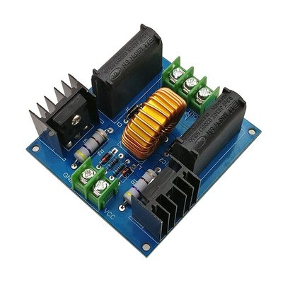 ZVS特斯拉線圈電源 升壓高壓發生器驅動板 感應加熱模組製作套 W220 [9024650]