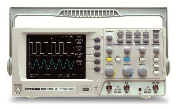 TECPEL 泰菱 》GDS-1052-U 50MHz 數位儲存示波器 GW 示波器 送電表 可刷卡 固緯  GWInstek