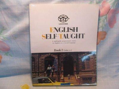【愛悅二手書坊 10-24】ENGLISH SELF-TAUGHT BOOK2 Units1-2