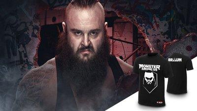 ☆阿Su倉庫☆WWE摔角 Braun Strowman Monster Among Us T-Shirt 怪物現身最新款