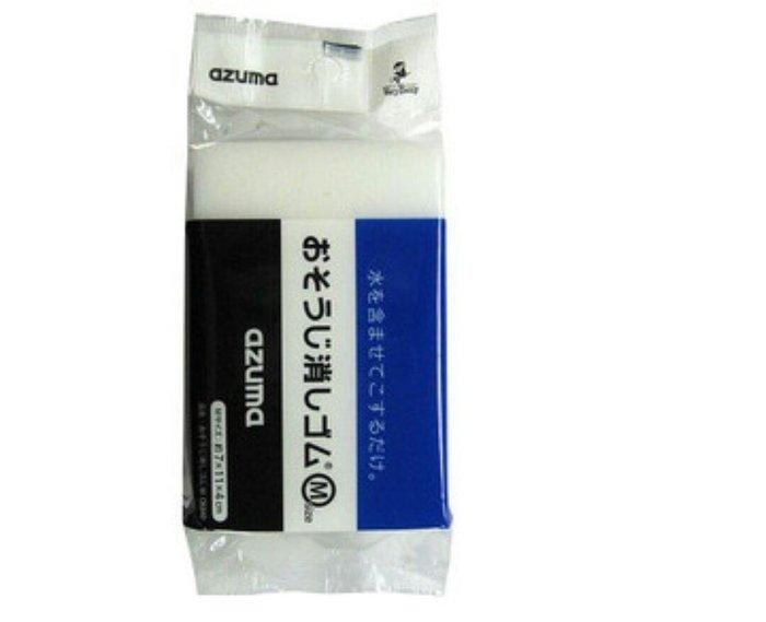 天使熊雜貨小舖~日本帶回AZUMA 科技海綿 萬用清潔海棉 日本製 全新現貨